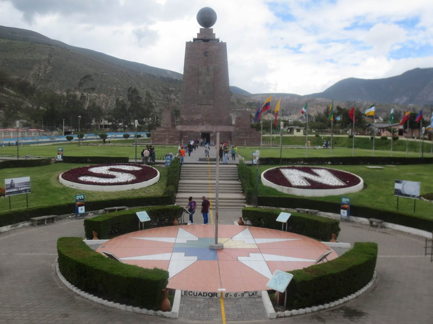 The Equator Line & Quito